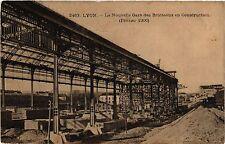 CPA Lyon-La Nouvelle Gare des Brotteaux en Construction (426646)