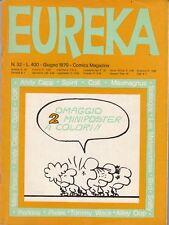 EUREKA n. 32 - EDITORIALE CORNO - GIUGNO 1970