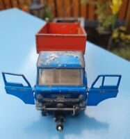 VINTAGE DINKY TOYS FORD D 800 TIPPER TRUCK