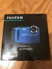Fujifilm Finepix Xp95 Waterproof Digital Camera - Blue factory sealed