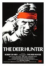 THE DEER HUNTER * CineMasterpieces ORIGINAL MOVIE POSTER ROLLED GUN UK RARE 1978