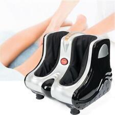 Shiatsu Kneading Rolling Vibration Heating Ankle Foot Calf Leg Massager Gray
