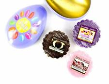 Yankee Candle Easter Egg Gift Set 3 Wax Melts in Metal Shaped Egg 1507248