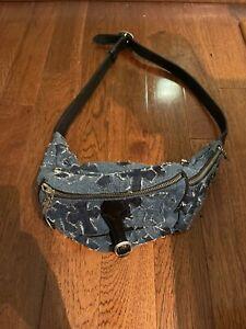 Chrome Hearts Denim Waist Bag