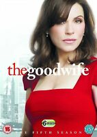The Good Wife Complete Series 5 DVD All Episodes Fifth Season UK Release NEW R2