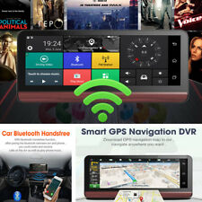 8'' 4G Wifi Car DVR Cam GPS Navigation Android Video Recorder +North America Map
