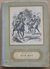 Rob Roy - Walter Scott (1956) illustrated Polish book Polska ksiazka ilustracje