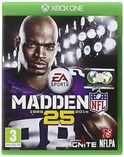 XBOX One Madden NFL 25 American Football Gioco Merce Nuova