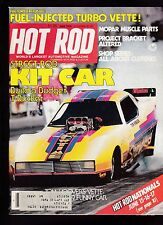 Hot Rod Magazine Street Rod Kit Car Tom Hoover Corvette June 1979 FREE US S/H