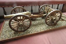 More details for napoleonic 1815 8lb with limber large scale model 32 inches long scratch built