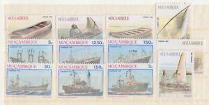 F-EX3274 MOÇAMBIQUE MOZAMBIQUE 1983 OLD SHIP BARCOS MNH STAMPS LOT.