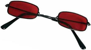 Vampire Glasses  Red Lenses  Victorian  Gothic  Blade  steam punk  small adult