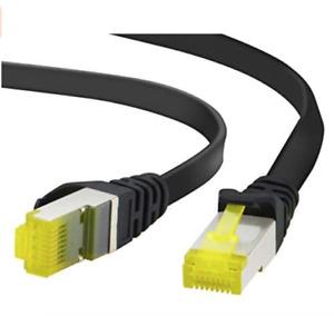 Câble réseau Ethernet RJ45 Cat.7 Cordon plat ou rond - plusieurs dimensions