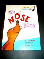 The Nose Book Al Perkins Beginner Book First Edition Dr. Seuss