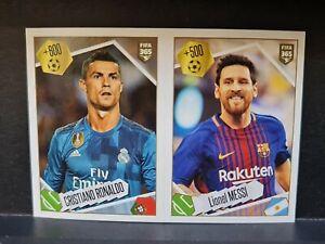Ronaldo & Messi Fifa 365 2018 Panini #501 MINT