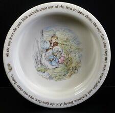 Lovely Peter Rabbit Wedgwood Mrs Tiggy-Winkle Beatrix Potter Childs Nursery Dish
