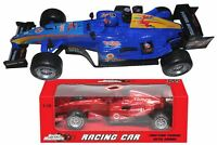 1x 1:18 Die Cast Formula 1 Racing Car Toy Friction Powered Sound Kids Boys Gift