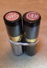 2 x REVLON Super Lustrous Lipstick Pearl - Smoky Rose 245