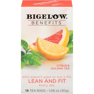 Bigelow Benefits Lean and Fit Citrus & Oolong Tea