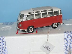 FRANKLIN MINT 1:24 1962 VOLKSWAGON MICROBUS LIMITED EDITION