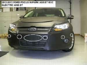 Lebra Front End Mask Cover Bra Fits FORD FOCUS 2012-2014 12 13 14 w/ part assist