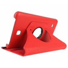 T8 Cases for Samsung Galaxy Tab 4 Tablet Sm-t230 360 Degree Rotation Housing A5n Red
