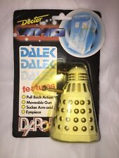 White DALEK Dr Who brand new chrome glasses case great gift!!!Birthday