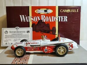 Carousel 1 1962 Roger Ward Leader Card Indy 500 1:18 Diecast Race Car 4404