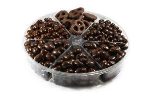 Dark Chocolate Fruit and Nut Gift Tray – Elixir of Health Gift Basket