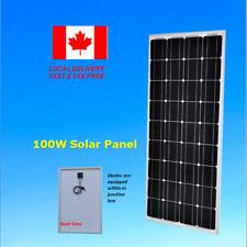 100W Watt Solar Panel 12V Volt RV Boat Camping Off Grid Home Battery Charger