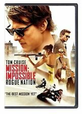 DVD - MISSION : IMPOSSIBLE  5  ROGUE NATION (2015)  TOM CRUISE   (NEW SEALED)
