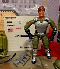 GI JOE ~ 2007 GRAND SLAM SILVER PADS ~ JOECON ~ JET PACK TROOPER ~100%  & CARD