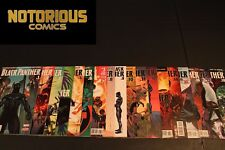 Black Panther 1-18 Complete Ta-Nehisi Coates Comic Lot Run Set Marvel Collection