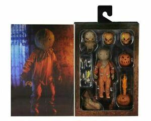 "NECA - Trick 'R Treat - Ultimate Edition Halloween Horror Sam 7"" Action Figure"