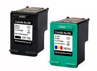 Set für HP 337 & 343 Druckerpatrone für Photosmart 5160