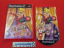 BUZZ! LE MEGA QUIZ PS2 PLAYSTATION 2 SONY PAL COMPLET