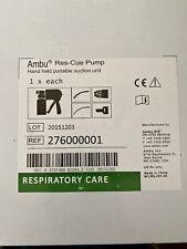 Ambu Rescue Pump Handheld Portable Suction Unit