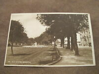 Early Sussex postcard - Old Steyne gardens & Street - Brighton