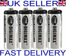 4 x Digimax 2/3 AAA (shorter) 400mAh Rechargeable Batteries for cordless phones