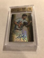 2014 BOWMAN STERLING CANARY DIAMOND REFRACTOR STEPHEN PISCOTTY AUTO RC #1/3 1/1