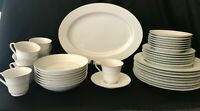"""Montgomery Ward Fine China """"Shannon"""" Set 38 Pieces Great Starter Apartment Set"""