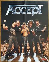⭐⭐⭐⭐ Accept ⭐⭐⭐⭐ Mastodon ⭐⭐⭐⭐ 1 Poster 45 x 58 cm ⭐⭐⭐⭐