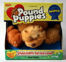 1996 Galoob 30390 Pound Puppies Pure Breds Chow Puppy Family Plush Dog Pup