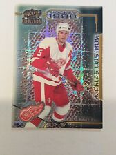 1998-99 Revolution Red Wings Hockey Card #48 Nicklas Lidstrom