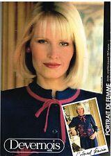 Publicité Advertising 1982 Pret à porter femme les vetements Devernois