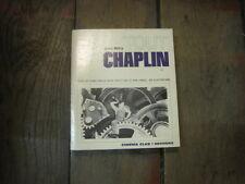 Jean MITRY: Tout Chaplin
