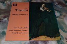 Nicolo Paganini~Violin Concerto No. 1~Victor Tretyakov~Moscow Philharmonic