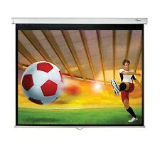 BRAND NEW OPTOMA DS-3120PMG+ 120-INCH PULL DOWN PROJECTION SCREEN
