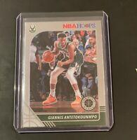 2019-20 NBA HOOPS PREMIUM STOCK GIANNIS ANTETOKOUNMPO BASE CARD #102 BUCKS