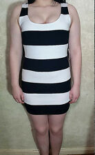 Forever 21 Size L dress black and white sleeveless NWT